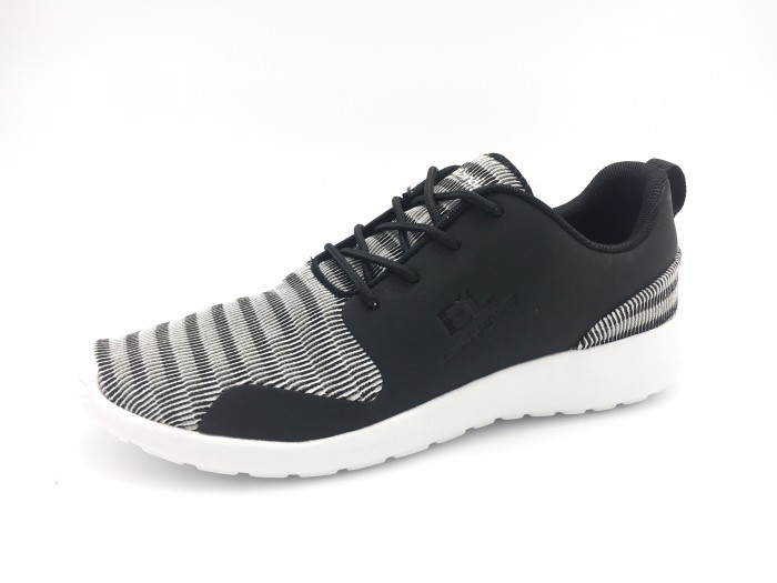 Men Casual Shoes Spring Autumn Lace up British Style Breathable Flyknit Top Fashion Shoes On Stock
