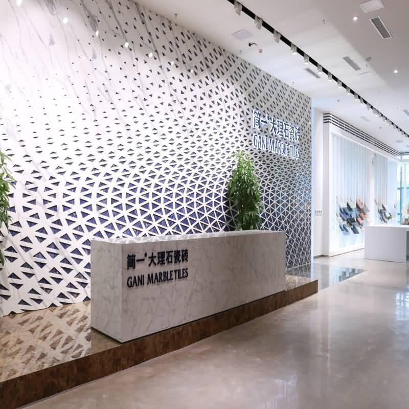 Nouvelle salle d'exposition phare située au siège social