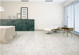 Jubin Marmer Putih Carrara Putih