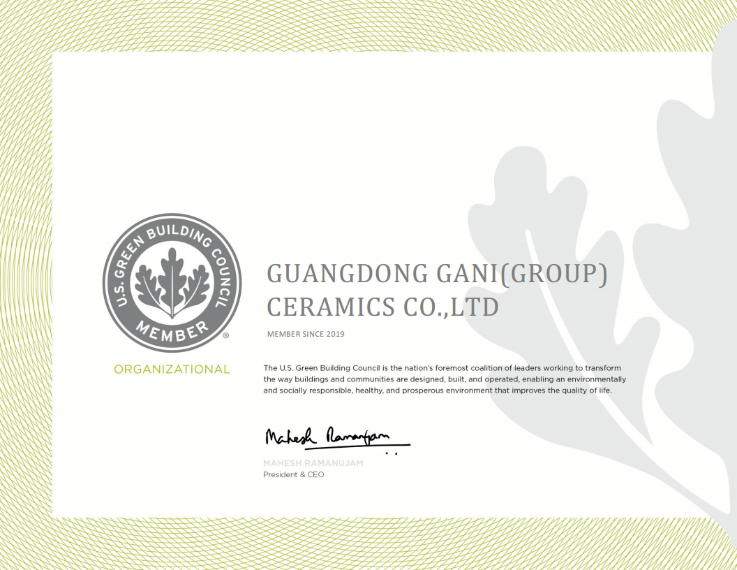 Member of US Green Building Council (USGBC)