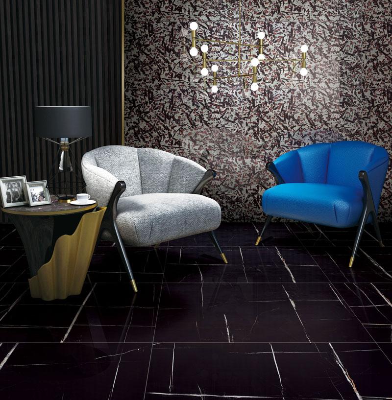 Laurent Black Marble Tiles Manufacturers, Laurent Black Marble Tiles Factory, Supply Laurent Black Marble Tiles