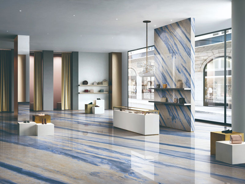 Azul Macaubas Blue Marble Tiles Manufacturers, Azul Macaubas Blue Marble Tiles Factory, Supply Azul Macaubas Blue Marble Tiles