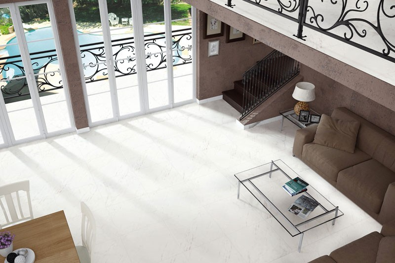 Ariston White Marble Tiles
