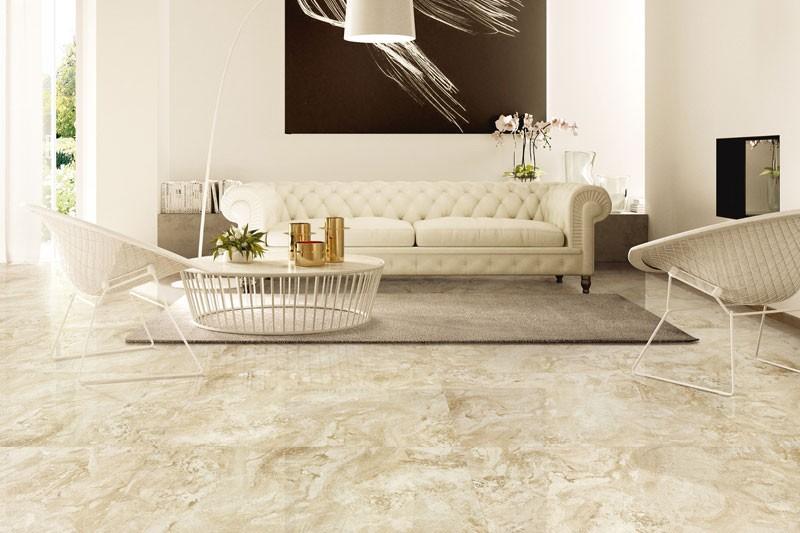 Tuiles de marbre beige cappuccino Onice