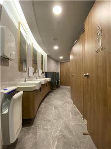 香港のオフィスビルのバスルーム