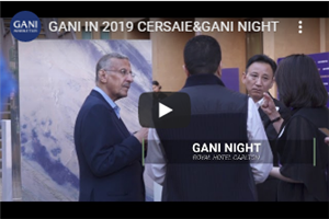 GANI IN 2019 CERSAIE&GANI NIGHT