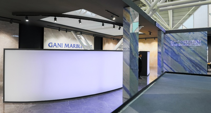 Azulejos de mármol GANI en 2019 CERSAIE