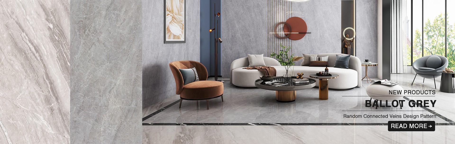 Ballot Grey Marble Tiles