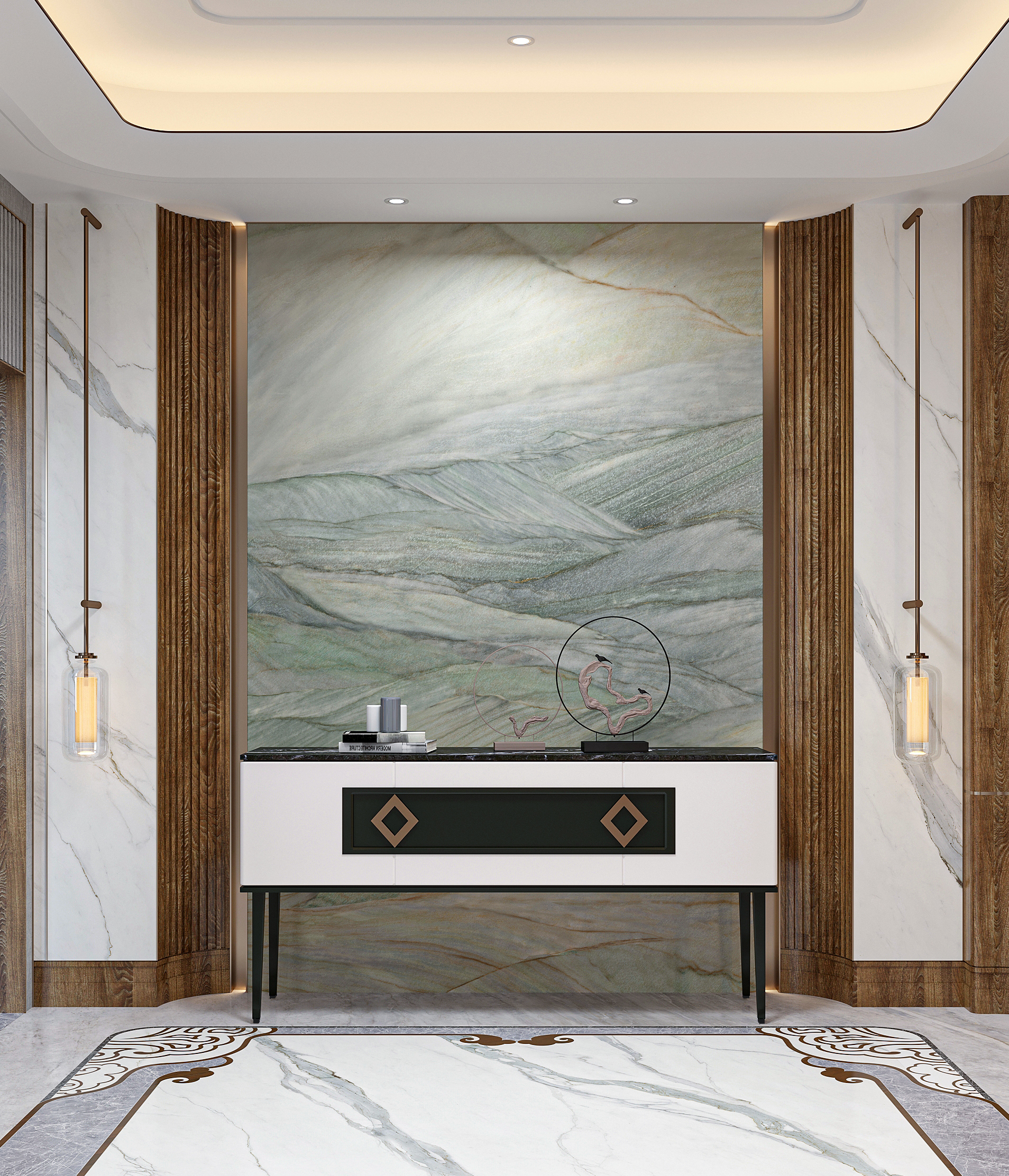Verde Lapponia Marble Tiles Manufacturers, Verde Lapponia Marble Tiles Factory, Supply Verde Lapponia Marble Tiles