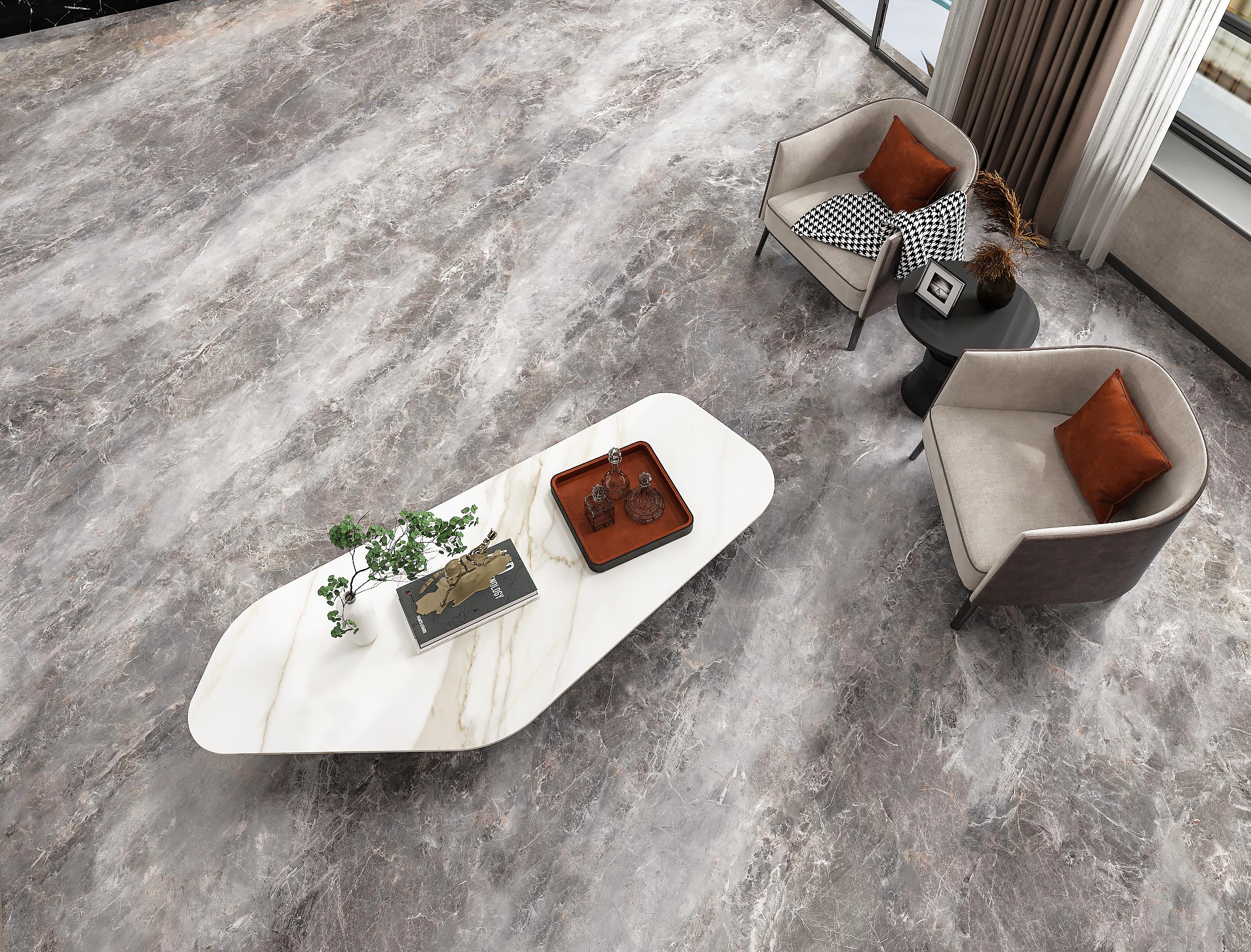 Maui Grey Marble Tiles