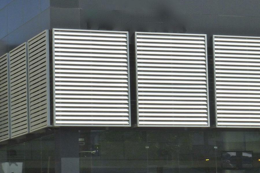 aluminium door louvers