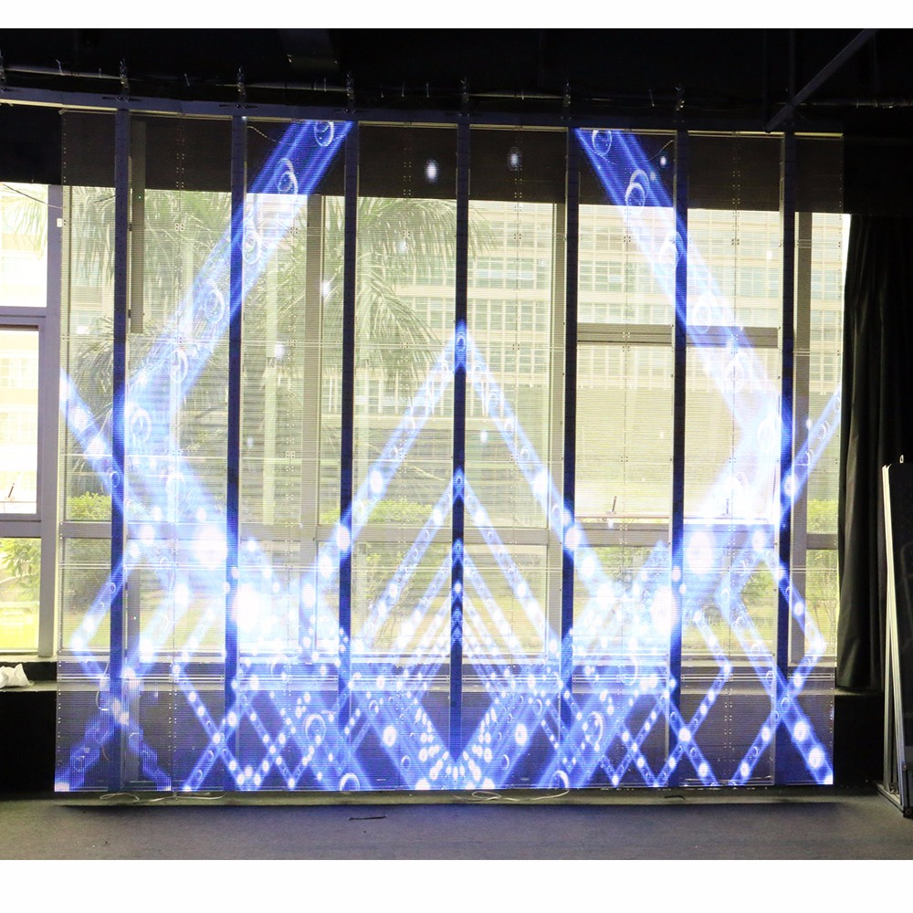 New product-Transparent LED glass display screen