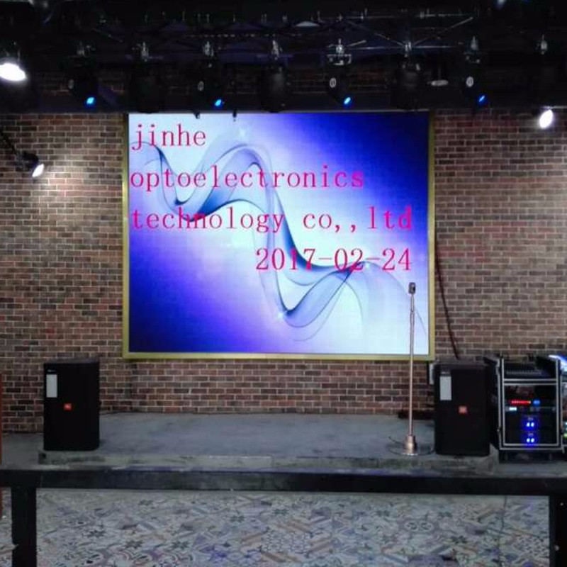 p4 indoor LED display applied in KTV for stage video wall