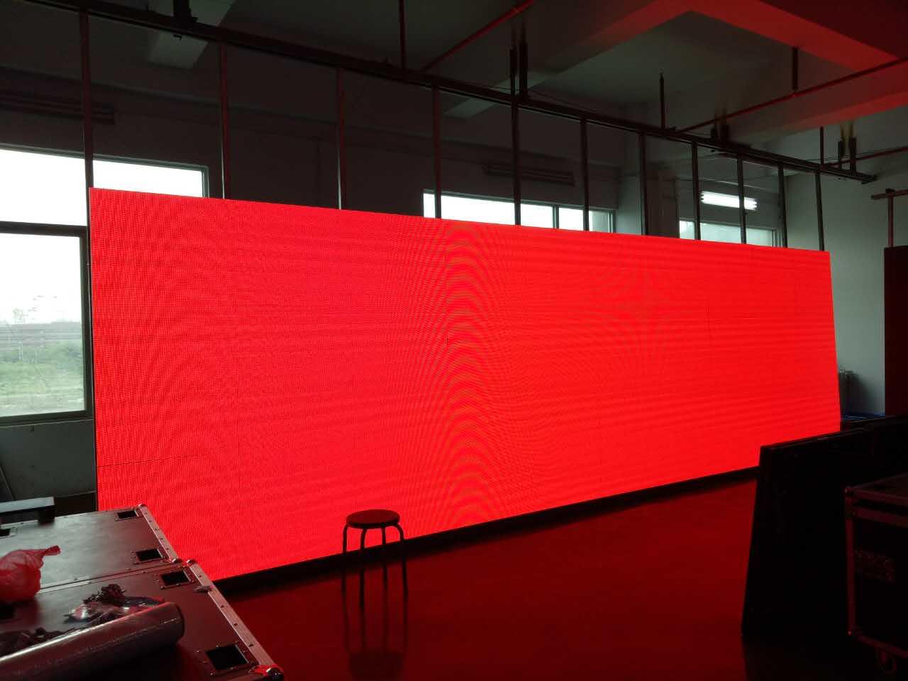 Indoor P6 LED display screen aging test.jpg
