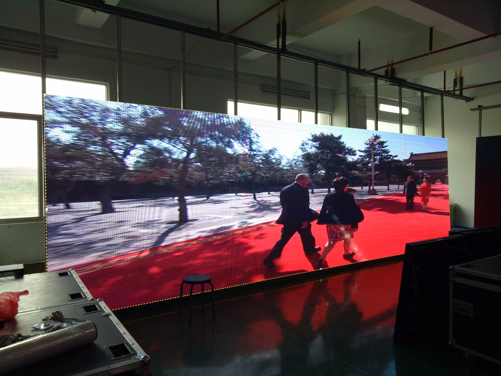 Israel project-Indoor P6 full color LED display screen