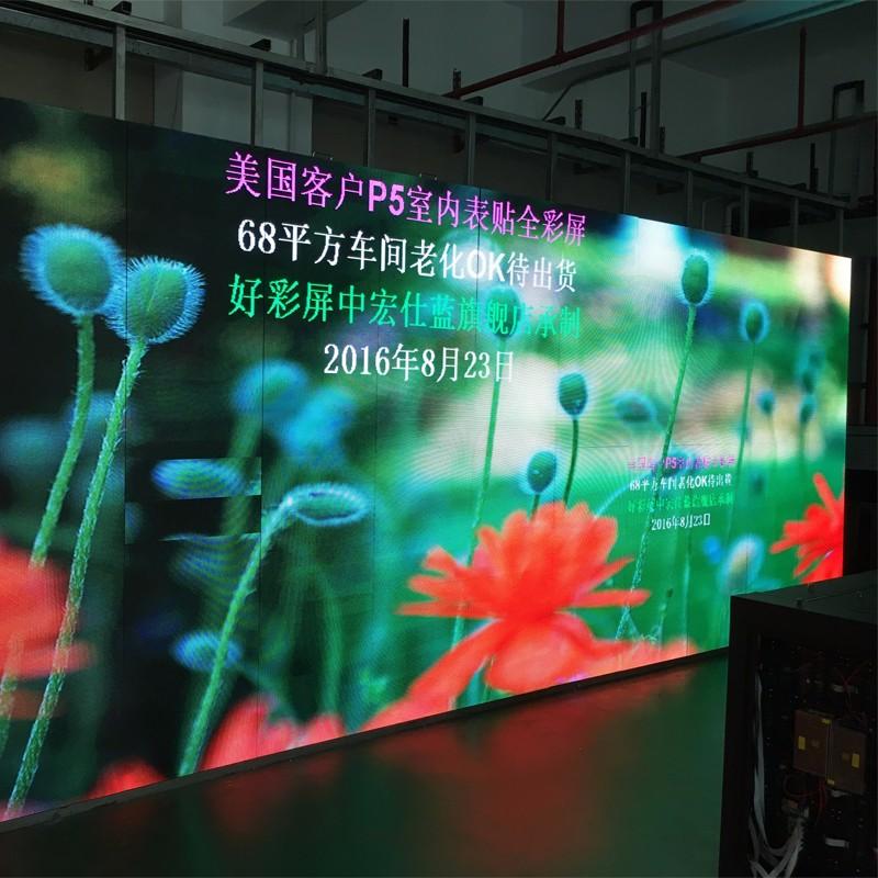 Market distribution of indoor LED display