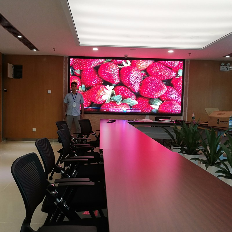 HD small pitch LED display has a broader prospects than the traditional display