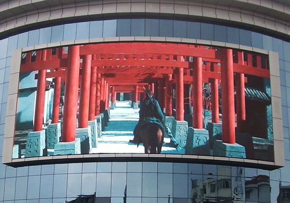 Outdoor small-pitch LED display is booming