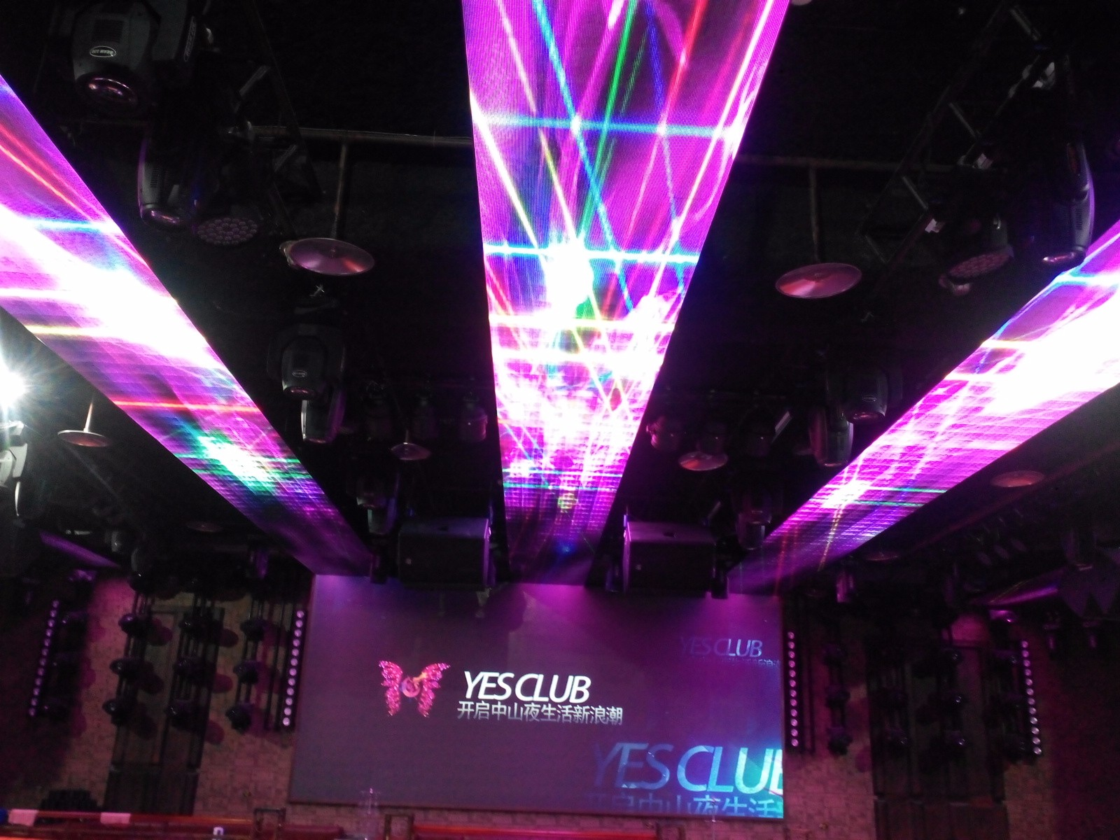 Indoor p3 full color stage LED display screen