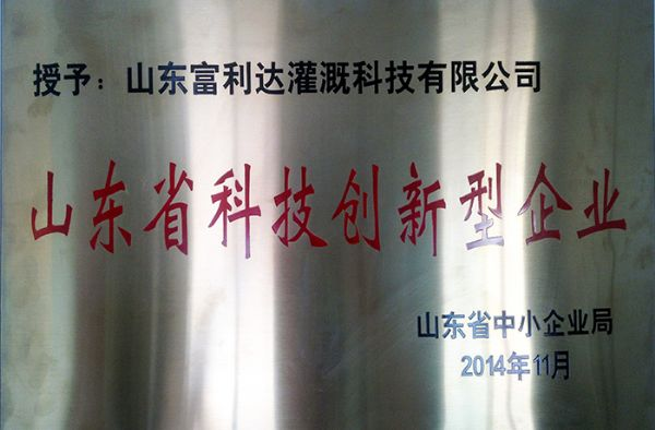 Shandong Science and Technology Innovation Enterprise