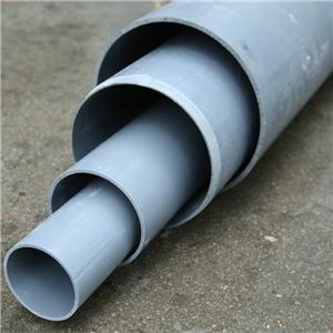 Tubo de drenaje de PVC