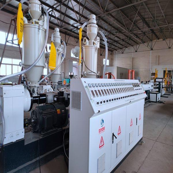 Máquina de fabricación de tubos de PVC de 75 mm