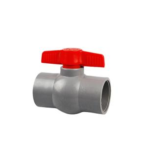 Válvulas de bola de plástico PVC Accesorios de tubería