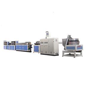 Máquina de fabricación de manguera de cinta de riego de tubería de goteo redonda: velocidad media