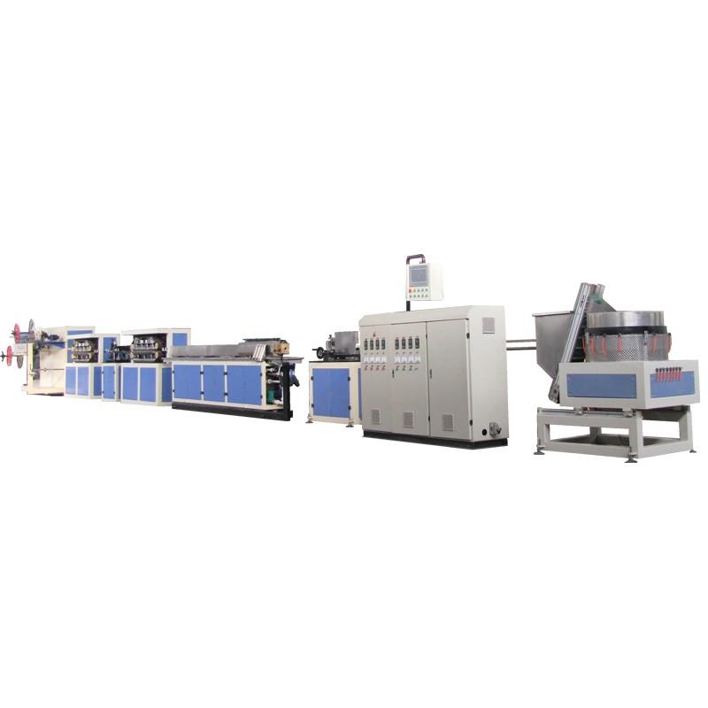 Línea de producción de cinta de riego por goteo plana interior-Velocidad estándar