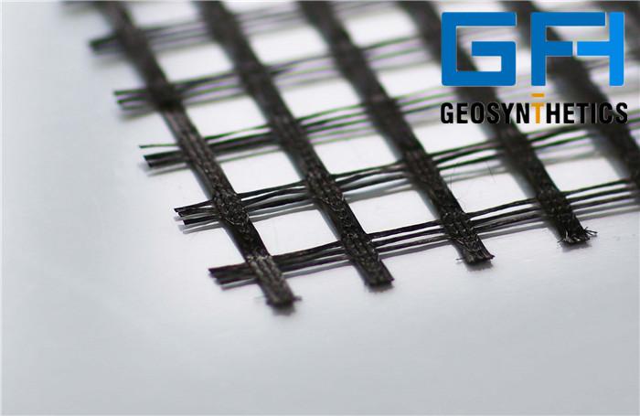 Fiber Glass Uniaxial Geogrid