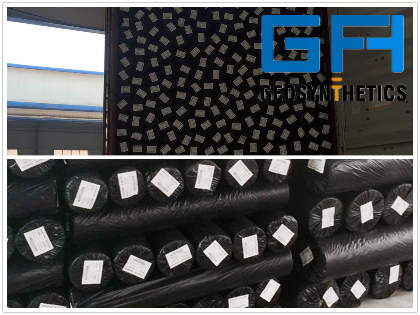 PET non woven Geotextile for filtration