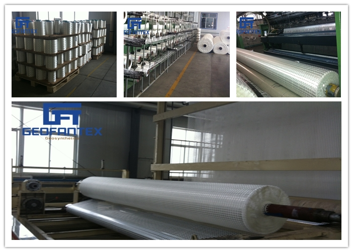 Geogrids factory