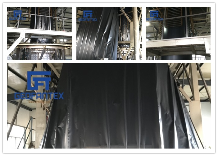 Durable HDPE Geomembrane for waterproof