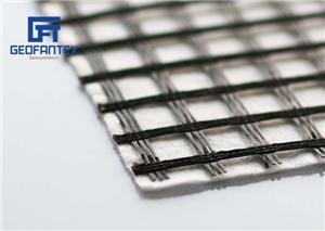 Geogrelha de fibra de vidro composta