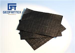 Composto de tecido geotêxtil tecido