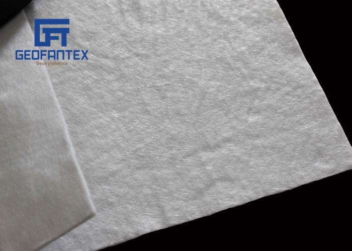 nonwoven geotextile and woven