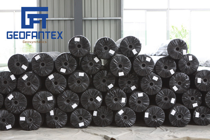 black PP geotextile for drainage