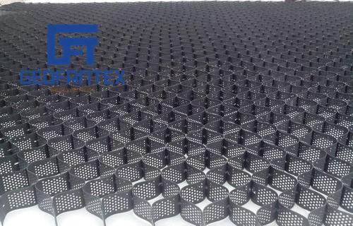Aplicação do produto: aplicação de geocélula de alta resistência na engenharia municipal