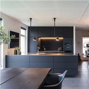 China Customized Oem Black Kitchen Cabinets Factory Produce Quotes