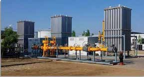 LNG Backup Gas Source And Point Supply System