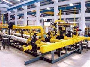 Industrial Dedicated Pressure Regulating Metering Skid