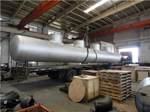 PDH pipeline prefabrication