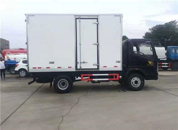 Truck body door hinge