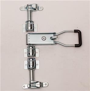 Serrure de porte de camionnette en acier loquet de porte galvanisé 22mm