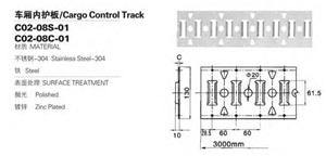 गुआंगज़ौ ट्रक पार्ट्स कार्गो नियंत्रण ई ट्रैक