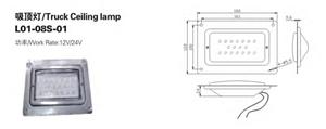 Plafonniers de plaque d'immatriculation de camion à LED directe d'usine