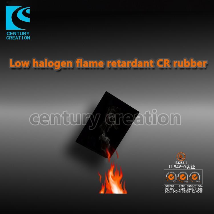 Getah CR kalis api halogen rendah