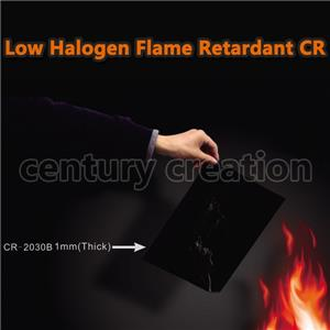 Low halogen flame retardant CR rubber sponge