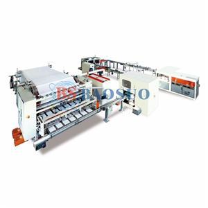 Línea de producción automática de tejido facial de transferencia automática de 1500 mm - 2200 mm