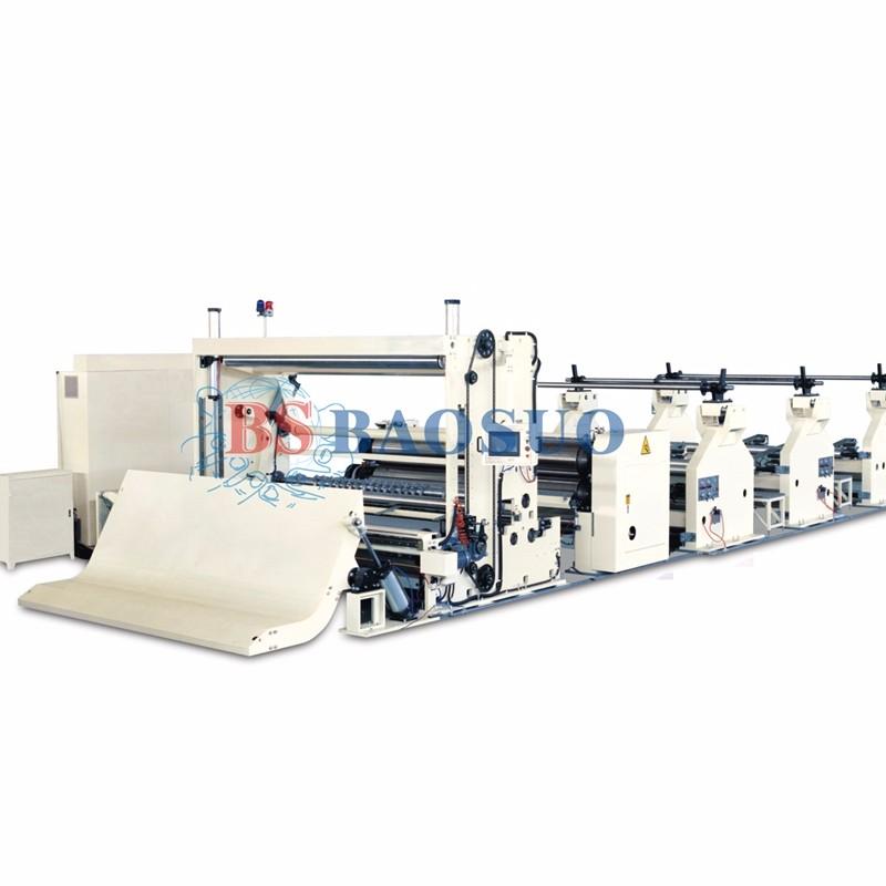 700m/min Automatic High Speed Jumbo Roll Slitting Rewinder